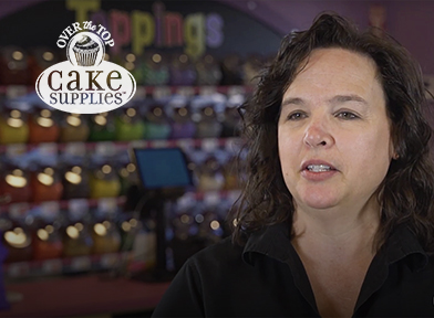 Over the Top Cake Supplies Testimonial